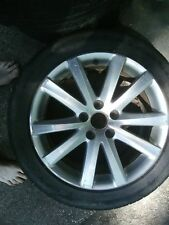 "Volkswagen CC 09-12 17""10 Spokes Chrome Factory Alloy Wheel used nt abused"