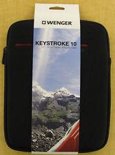 New Wenger 'Keystroke 10' Tablet/eReader Case  - 64026019 - Black