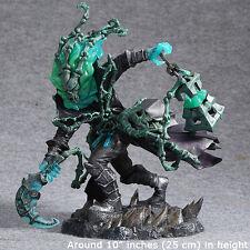 """LOL League Of Legends Chain Warden Thresh 10"""" PVC Action Figure 3D Statue Model"""