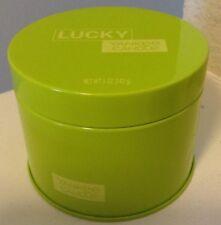 Yankee Candle 5 OZ TIN-NVL Candle LUCKY Green Wax Lime Jasmine Honeysuckle Sugar