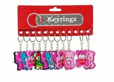 Rectangle Plastic Animal Collectable Keyrings