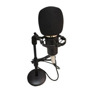 BM-800 MICROFONO A CONDENSATORE PORTATILE PER STUDIO STREAMING LIVE NUOVO K4V0