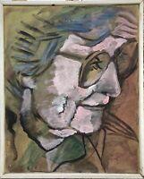 Malerin Brigitte Tietze Berlin Portrait Katja 1989 Expressiv Ernst Schumacher