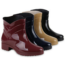 Damen Gummistiefel Profil Sohle Stiefel Regen Schuhe 834247 Schuhe