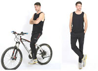 Long Men's Women's Cycling Trouser Mountain Bike Bicycle Pants Tights Quick Dry