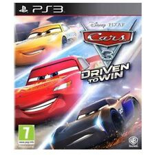 Cars 3 Driven to Win PS3 Game - Brand New!