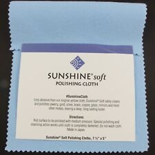 Sunshine Jewellery Polishing Cloth Jewelry Cleaner Silver Gold Brass Copper BLUE