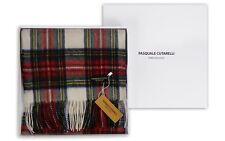 Dress Stewart Red Tartan Scarf - Mens Womens 100% Pure Wool Gift Box (DRESTEW-W)