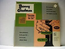 BENNY GOODMAN - SESSION FOR SIX & EASY DOES IT-  LP