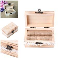 Wood We Do Engagement Wedding Ring Display Storage Box Case Organiser Holder