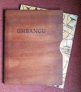 Umbangu: Art du Congo au Musée Royal du Congo Belge published by Cultura in 1960