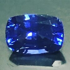 Natural 2.45 Carat Royal Blue Sapphire Genuine Loose Gem Rectangular Cushion