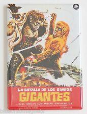 War of the Gargantuas (Spanish) FRIDGE MAGNET movie poster horror