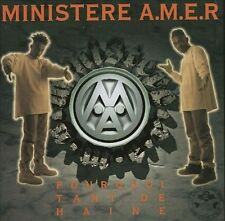 New: MINISTERE AMER: Pourquoi Tant De Haine Import Audio CD