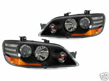 DEPO JDM Euro Black Housing Projector Headlights For 2002-2003 Mitsubishi Lancer