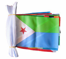 AFRICAN NATIONS 16 METRE BUNTING 53 FLAGS FLAG SOUTH AFRICA KENYA