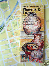 NEW-'05-MAP of PHOENIX,Tucson & Scottsdale, MapEZ Guide w/Downtown Details+Tempe