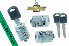 Chevy SUV - Door Lock Cylinder SET with 2 Keys -Right, Left & Rear - Brand New