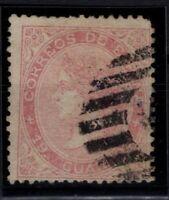 P133239/ SPAIN – ISABELLA II – EDIFIL # 90 USED – CV 630 $