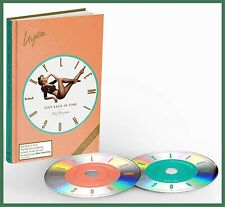 """KYLIE MINOGUE """"step back in time"""" Deluxe Mediabook Edition 2cd Best-of 2019"""