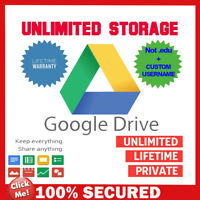 Gsuite/Google photos, Cloud, Google Drive unlimited, CUSTOM USERNAME + Lifetime