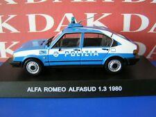 Die cast 1/43 Modellino Auto Polizia Police Alfa Romeo Alfasud 1.3 1980