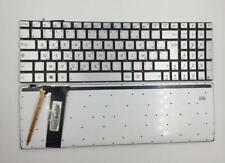 Laptop keyboard for ASUS N550 N550LF N550JV N750 AF Arabic French with backlit