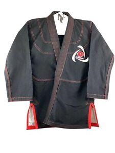 Boys BJJ  Royal K.Jiu Jitsu Kimono Kit HULK theme Black  PerlWeave RR03