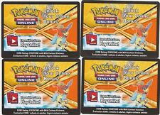 4 X Pokemon Code Card - Promotional - Keldeo (Keldeo EX TIN)  EMAILED TO YOU