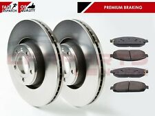 FOR JEEP GRAND CHEROKEE COMMANDER 05-10 CRD FRONT BRAKE DISC DISCS PAD PADS SET