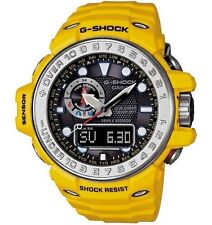 Casio G Shock * GWN1000-9A Gulfmaster Ocean Yellow Triple Sensor Smart Access