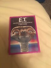 E.T. The Extra-Terrestrial Card Game Jumbo Cards Parker Bros SEALED 1982