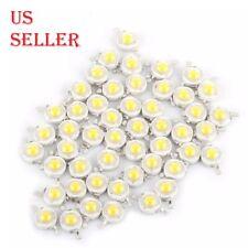 1W 100-120LM SMD White/Warm White LED Lamp Beads Bulb Chip High Power LED