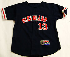 Vintage Omar Vizquel Cleveland Indians Youth Jersey  MLB Players Choice Stitch
