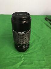 SIGMA ZOOM-K III 1:3.5-4.5 f=75-210mm Multi Coated Lens 52mm for Minolta SLR