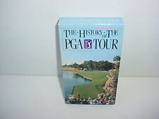 The History Of The PGA Tour VHS Video Tape