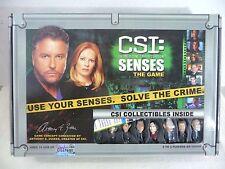 CSI Crime Scene Investigation Senses Board Game 2006 Complete Collectible Pawns