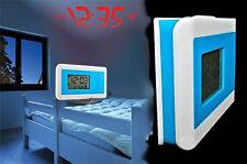 Sveglia con Proiezione Ora/Temperatura Orologio Display Data Vari Colori