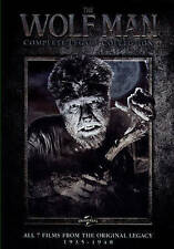 The Wolf Man: The Legacy Collection (DVD, 2014, 4-Disc Set  *7 Movies*)
