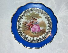 Vintage Limoges 'Monarch' Porcelain Small Cabinet Plate Porcelaine d'Art