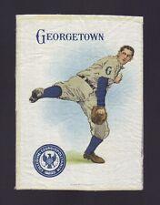 S21 Tobacco Silk - Large Athlete & College Seal - Georgetown University Baseball