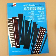accordion WORLD's FAVORITE EASY TO PLAY PIECES