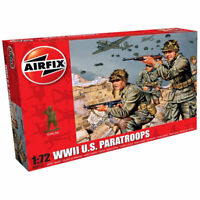 AIRFIX A00751 WWII US Paratroops 1:72 Figures Model Kit