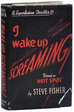 Steve Fisher-I Wake Up Screaming (1943)-1St Uk Ed, Vg+/Vg Dj-Film Noir Source Bk