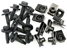 """Ford Truck Body Bolts & Clips- 5/16"""" x 1-3/16""""- 5/8"""" Center to Edge- 20 pcs #375"""