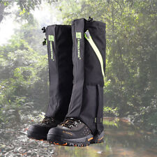 Men Outdoor Hiking Camping Legging Gaiters Waterproof Long Boots Accessory Cover
