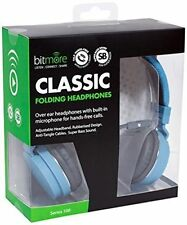 Bitmore Classic Over-ear Headphone With in Line Microphone and Detachable Cable