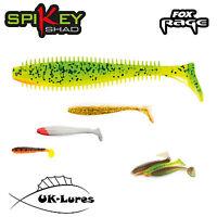 Fox Spikey Shad 3pcs Dropshot Fox Rage Tackle perch lure fishing predator jig