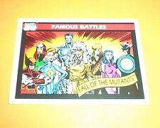 Fall Of The Mutants  #102 1990 Marvel Universe Series 1 Trading Card
