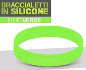 per Adulti Unisex Taglia Unica Supportershop Multicolore Braccialetto in Silicone Italiano